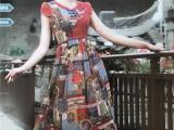 广州折扣女装店折扣公司一手货源库存尾单连衣裙批发公司健凡服饰