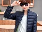 秋冬季青年男外套韩版修身男装上衣潮流行休闲棉服外套