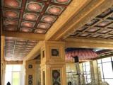 莆田地区古建寺庙吊顶生产厂家防火防潮铝合金天花板