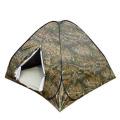 自动钢丝迷彩帐篷3-4 户外休闲帐篷 内涂银生级不加价