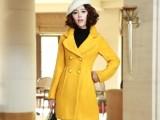 2013冬装新款女韩版时尚范儿长款毛呢大衣毛呢外套