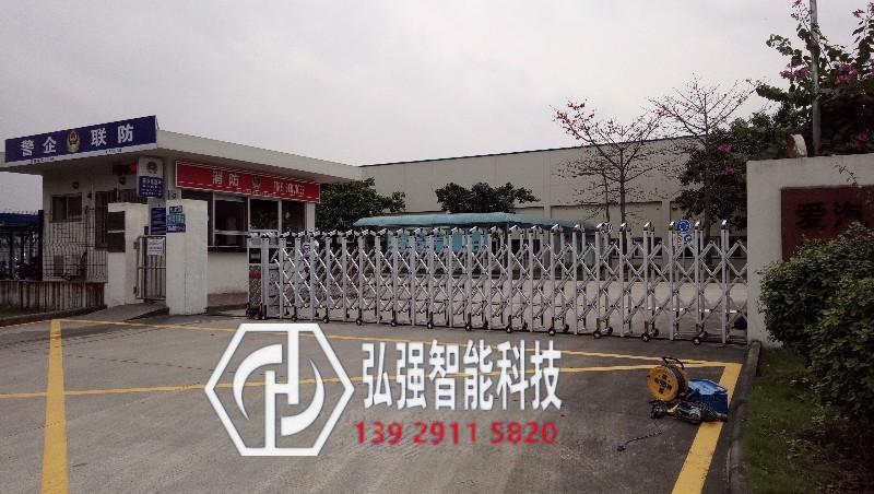 江门电动伸缩门厂家,电动门安装,江门蓬江伸缩门订做价格