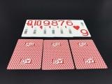 定做防伪扑克牌隐形条码扑克牌厂家 防止换牌
