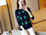 厂家直销便宜服装地滩货源 韩版 女装毛衣 时尚女装毛衣批发