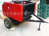 小麦秸秆捡拾打捆机 收割捡拾压捆机 多功能打捆机价格