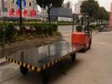 10吨牵引式平板拖车,移动全挂式平板车哪里有卖的