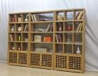 茶叶展示柜货架榆木博古架多宝阁实木中式仿古书架古董置物架隔断