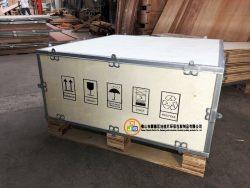 佛山順德木箱定制供應廠家 免熏蒸出口木箱 鍍鋅鋼扣木箱
