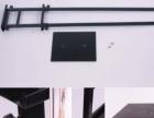 挂画架双面海报架双面展架H型展示架指示牌制作