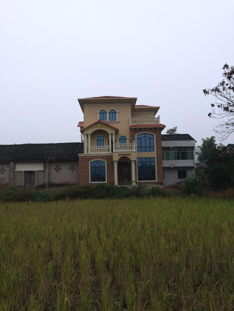 四川成都自建房 别墅 小洋房 乡镇房屋 室内 景观设计及施工