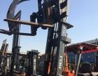 优质二手TCM合力3T钢管夹 木材专用抓叉车专营直销