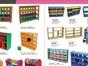 山西太原幼儿园玩具 工程塑料滑梯厂家