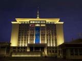 郑州LED楼体亮化工程优选国圣标识标牌有