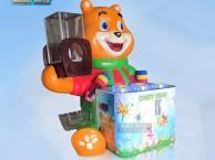玻璃钢糖果熊打地鼠开发智力统感平衡奥卡夫音乐