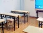 全新简易折叠桌子,椅子处理,培训班首选