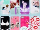 爆款 iphone4/4s彩绘浮雕手机壳 5/5s苹果保护壳PC
