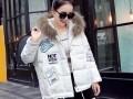 大量秋冬棉服羽绒服低价处理北京服装货源外贸外套长袖库存服装