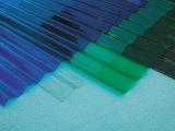 广州PC梯形波纹板 屋面透明PC梯形波浪瓦 厂家供应100%正品