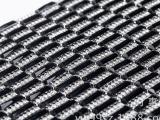 新款热销 背胶烫钻玻璃长方形黑色水钻网钻