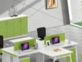定制办公家具,有班台、班椅、书柜等