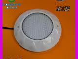 最新大功率18W 挂壁式LED不锈钢泳池灯12V RGB内控厂家