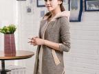 厂家直销 2014新款秋季外套休闲长袖上衣潮女装短外套 质量保证