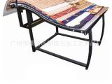 布料展示架  烤漆防锈 简易式铁展架 脚垫汽车垫展示架子 地毯架
