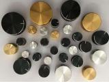 鋁合金旋鈕 金屬電位器旋鈕帽 工業旋鈕 編碼器 調音臺旋鈕