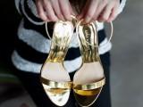 欧洲站露趾细跟金色高跟鞋 ZARA凉鞋 2014夏季新款女鞋 厂