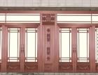 天津不锈钢古铜拉丝门价格,仿古铜门销售