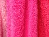 厂家直销纬编全涤染色舒棉绒 现货双面保暖衣针织绒布面料批发