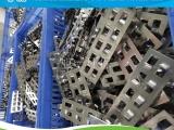 高效率高传质不锈钢鲍尔环填料生产现场金属鲍尔环