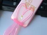 魅蓝5.0手机壳 5.5超薄透明兔子耳朵支架手机套 新款tpu保