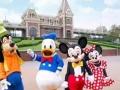 暑假特惠 上海迪士尼乐园 亲子游 自由行 双高/双飞三日