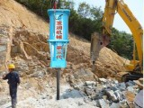 安徽合肥顶石神器棒岩石液压劈裂机威力无比