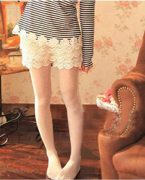 2014孕妇时尚短裤 韩版蕾丝托腹裤 孕妇 防走光打底裤