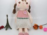 韩版时尚安吉拉毛绒娃娃 小女孩毛绒人偶定制  定制玩具批发