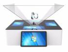 19寸3D全息展示柜 三维立体成像柜 幻影成像柜 金字塔成像