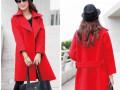 新疆最便宜冬季女装批发乌鲁木齐最低价中长款呢子大衣棉服批发