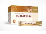 选择中国新时代 成就您的辉煌未来 国珍松苓薏仁粉