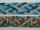 蜡绳编织带、编织腰带、织带、服装辅料