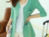 2014春季韩版女装 西装 春季外套 一件代发