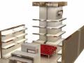 商场展柜,展台,柜台,货柜,货架制作,店铺设计装修