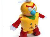 益尔乐0936热卖跳舞机器人 愤怒小鸟系列音乐灯光小玩具万向