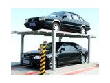 二层简易升降立体车库 地坑两层停车设备 立体停车 智能立体车库