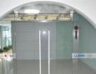 办公室钢化玻璃隔断 企业钢化玻璃门 钢化玻璃台面