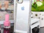 苹果爪链iphone4S/5C/6镶钻手机套保护壳水钻外壳