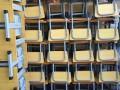 北京学生课桌椅长条桌出售折叠椅酒店椅批发
