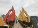 山东二手挖土机一台 中型130 220挖掘机