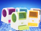 批发空调型香味风扇 香水座风扇 创意新奇特USB电池两用迷你风扇